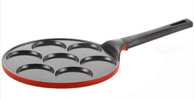 Сковорода для оладий Frybest Rainbow литая 26 см