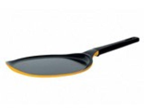 Сковорода блинная Frybest Rainbow литая желтая 26 см