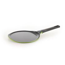 Сковорода блинная Frybest Rainbow литая зеленая 26 см