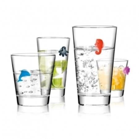 Украшения для стаканов Tescoma myGLASS 12 штук океан 308820