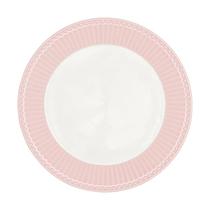 Тарелка 23,5 см Alice pale pink