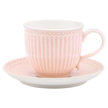 """Чайная пара """"Alice pale pink"""""""