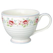 """Чайная чашка 400 мл """"Meryl mega white"""""""