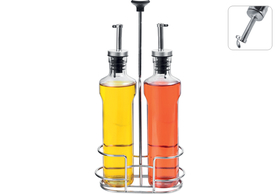 Бутылки для масла и уксуса, 3 пр., NADOBA, серия PETRA