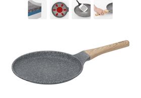 Сковорода блинная с антипригарным покрытием, 24 см, NADOBA, серия MINERALICA