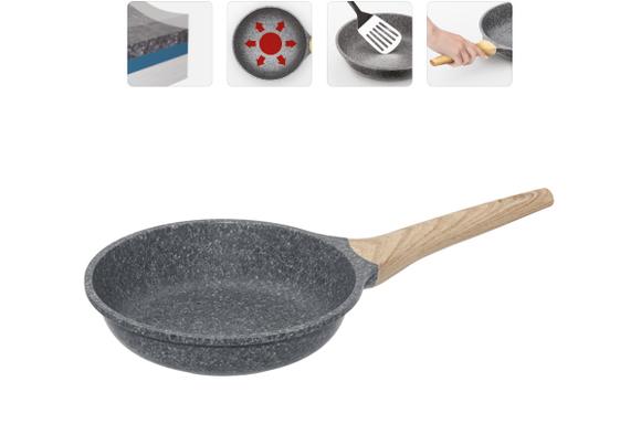 Сковорода с антипригарным покрытием, 20 см, NADOBA, серия MINERALICA
