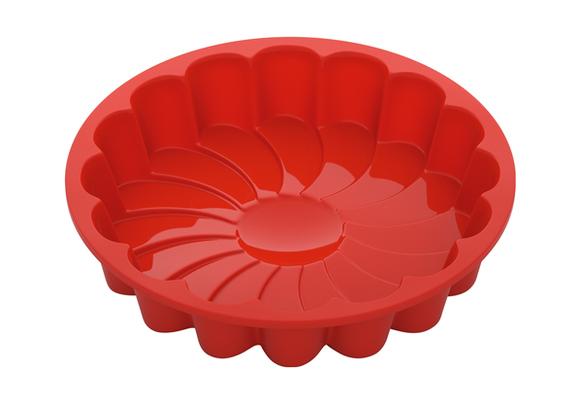Форма для выпечки в виде цветка, силиконовая, 23x23x4,5 см, NADOBA, серия MILA