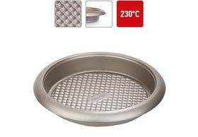 Форма для выпечки круглая, стальная, антипригарная, 27х4,5 см, NADOBA, серия RADA