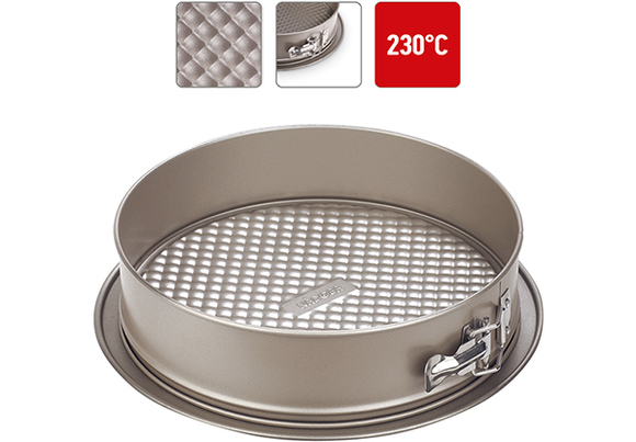 Форма для выпечки разъемная, стальная, антипригарная, 25х6 см, NADOBA, серия RADA