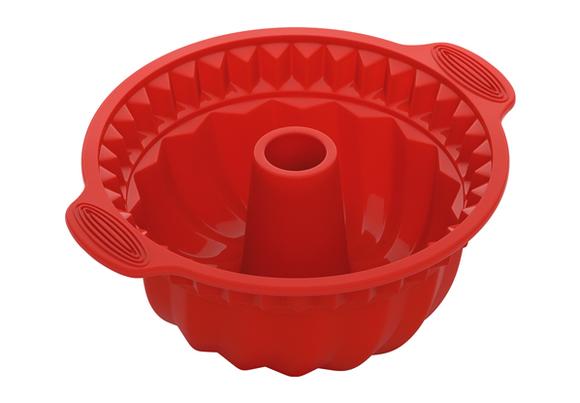 Форма для круглого кекса глубокая, силиконовая, 28x24x10 см, NADOBA, серия MILA