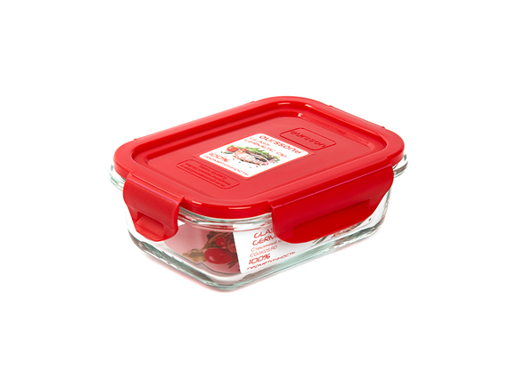 Стеклянный герметичный контейнер объемом 0,37 л