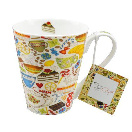 Кружка conical Утренний чай  400мл