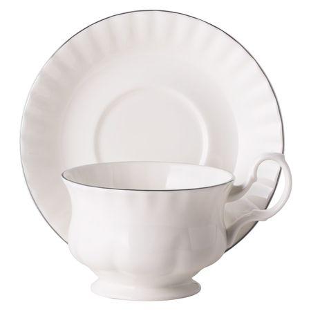 Чайная пара для завтрака Платиновый берег 400 мл