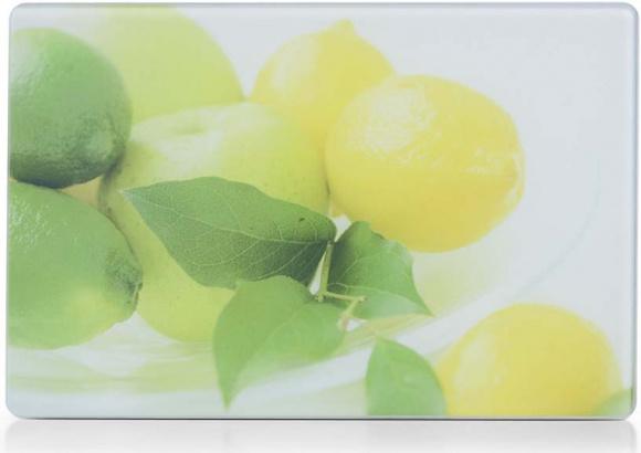 """Разделочная доска стекло """"Лимоны"""" 30х20см Zeller"""