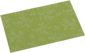 Подставка под горячее  43х29 см., зеленая с рисунком.