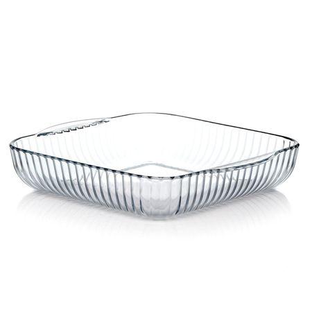 Посуда для СВЧ квадратная с ручками 3,2 л