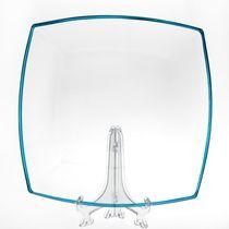 Тарелка TOKIO 265x265 мм голубой