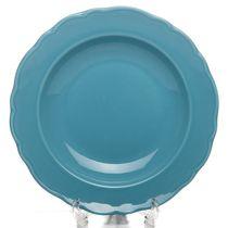 Тарелка глубокая LAR 22 см, голубая