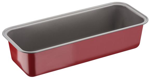 """J1640174 Форма для кекса 30 см """"Делибэйк"""" из углеродистой стали.Tefal. Цвет: красный."""