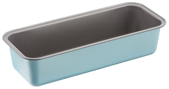 """J1650114 Форма для кекса 30 см """"КАЛОР ЭДИШН"""" из углеродистой стали. Tefal. Цвет: голубой."""