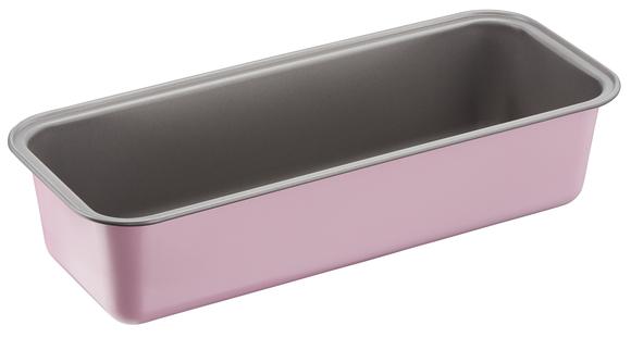 """J1660114 Форма для кекса 30 см """"КАЛОР ЭДИШН"""" из углеродистой стали. Tefal. Цвет: розовый."""