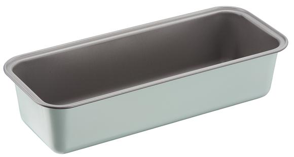 """J1670114 Форма для кекса 30 см """"КАЛОР ЭДИШН"""" из углеродистой стали. Tefal. Цвет: зеленый."""