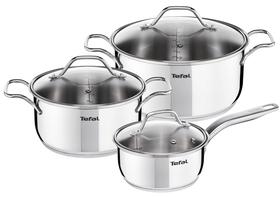 Набор посуды Tefal Intuition, нержавеющая сталь, 6 предметов