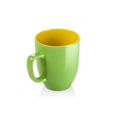 Кружка CREMA SHINE 290мл зеленый, Tescoma 387192.25