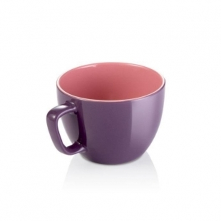 Большая кружка CREMA SHINE 590мл фиолетовый, Tescoma 387194.23