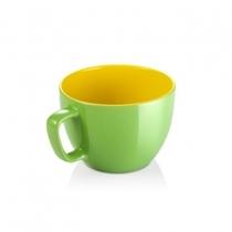 Большая кружка CREMA SHINE 590мл зеленый, Tescoma 387194.25