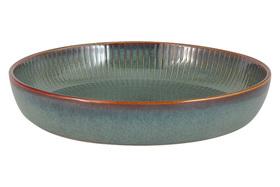 Салатник - тарелка для пасты Julia Vysotskaya Comet морская волна