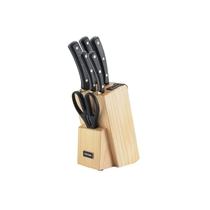 Набор из 5 кухонных ножей и блока для ножей с ножеточкой Nadoba Helga 723016
