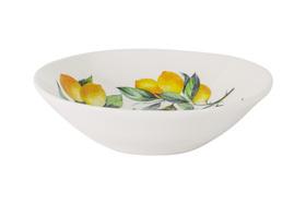 """Тарелка суповая """"Лимоны"""" Julia Vysotskaya 23 см"""