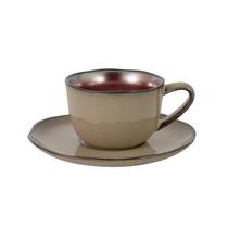 Чашка с блюдцем Julia Vysotskaya Copper JV-HL889820 0.18 л