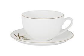 """Чашка с блюдцем """"Strelitzia"""" Julia Vysotskaya 0,25 л"""