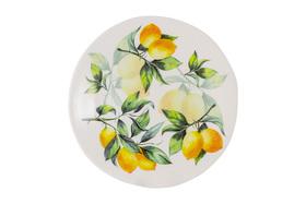 """Тарелка салатная """"Лимоны"""" Julia Vysotskaya 22 см"""