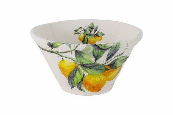 """Салатник """"Лимоны"""" Julia Vysotskaya 16см"""