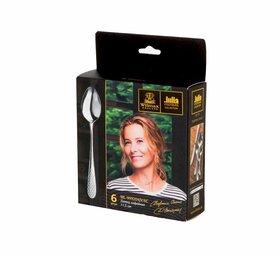 Набор ложек кофейных  Wilmax Julia Vysotskaya 11,5 см, 6 шт.